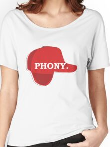 Catcher in the Rye Shirt – Holden Caufield, Phony Women's Relaxed Fit T-Shirt