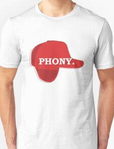 Catcher in the Rye Shirt – Holden Caufield, Phony T-Shirt