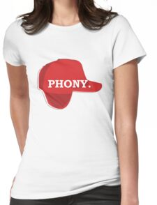 Catcher in the Rye Shirt – Holden Caufield, Phony Womens Fitted T-Shirt