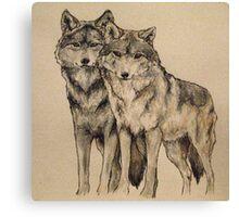 'Wolves' Canvas Print
