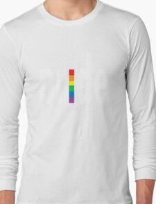 Gay pride dark tees men women geek funny nerd Long Sleeve T-Shirt