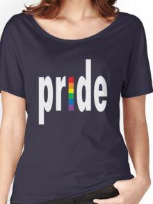 Gay pride dark tees men women geek funny nerd Women's Relaxed Fit T-Shirt