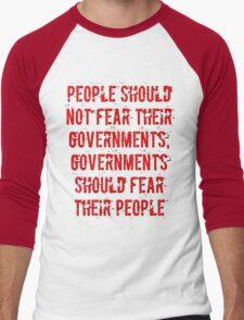 No Fear Men's Baseball ¾ T-Shirt