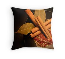 Spices 5 Throw Pillow