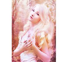 Fairy girl purple Photographic Print