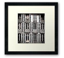 Lisbon Apartments Framed Print