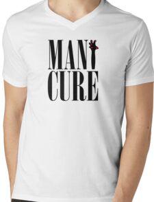 MANiCURE: Paws Up! Mens V-Neck T-Shirt