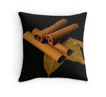 Spices 6 Throw Pillow