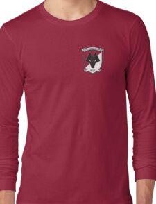 Retro Wolves Badge 1988-1993 Long Sleeve T-Shirt