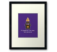 The Legend of TMNT - Donatello Framed Print