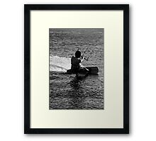 Love the Sea Framed Print