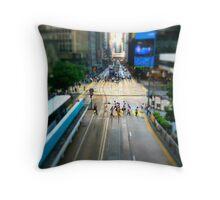 Hong Kong Throw Pillow