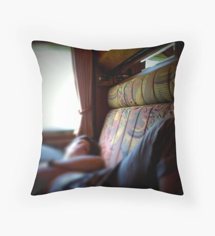 Orient Expressed Throw Pillow