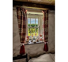 Cottage Pottery Photographic Print