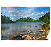 Jordan Pond, Acadia National Park, Bar Harbor, Maine Poster