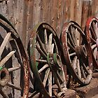 The Wagon Wheels by Gene Praag