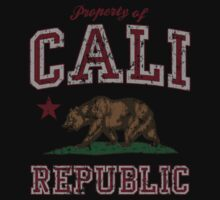 Vintage Property of Cali Republic by iEric
