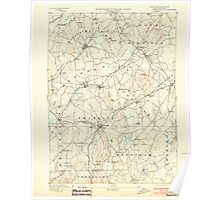 Massachusetts  USGS Historical Topo Map MA Franklin 352675 1893 62500 Poster