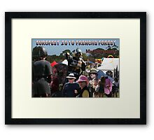 Just my brief impressions - Eurofest 2010 - Frenchs Forest Framed Print