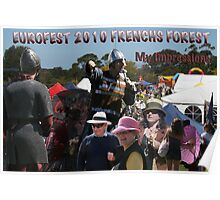 Just my brief impressions - Eurofest 2010 - Frenchs Forest Poster