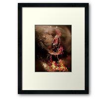 Gabija Fire Storm Framed Print