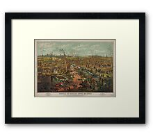 Civil War Battle of Shiloh April 6th 1862 Framed Print