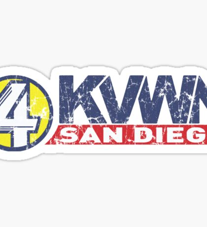 Channel 4 news San Diego Sticker