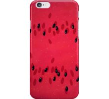 watermelon space iPhone Case/Skin