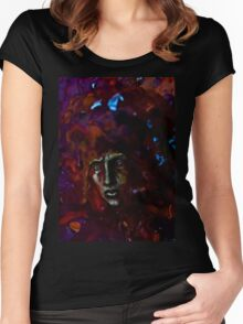 Portrait of a Lord of Maddness Women's Fitted Scoop T-Shirt