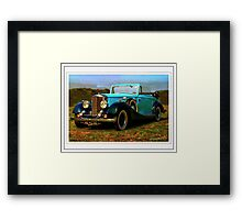 The Railton Fairmile Framed Print