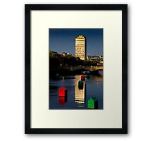 Little Boxes Framed Print