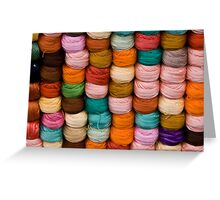Great Balls Of Yarn Greeting Card