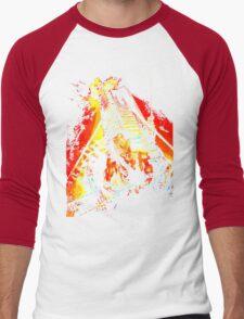 Exterior : Nakatomi Plaza Men's Baseball ¾ T-Shirt