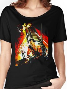 Exterior : Nakatomi Plaza Women's Relaxed Fit T-Shirt