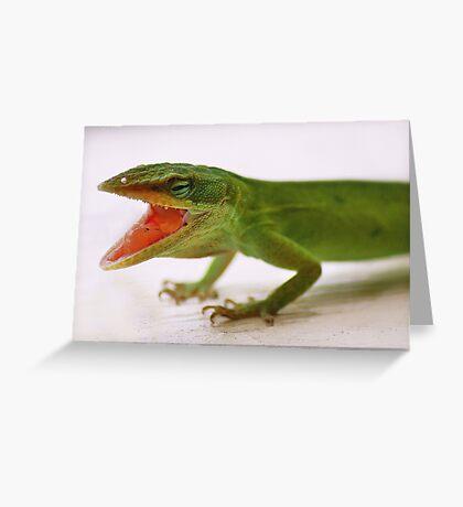 Lizard Greeting Card
