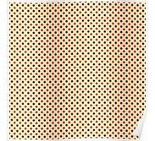 Kawaii Cute Polka Dot Poster