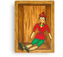 Pinocchio 2 Canvas Print
