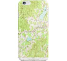 Massachusetts  USGS Historical Topo Map MA Pittsfield West 350467 1959 24000 iPhone Case/Skin