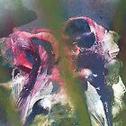 Patriotic Iris by linmarie