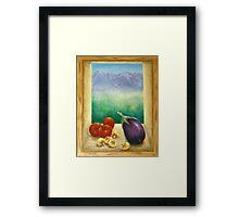Colorado Rocky Mountains View Framed Print