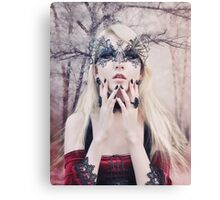 Maria Amanda - elven woman girl gothic Canvas Print