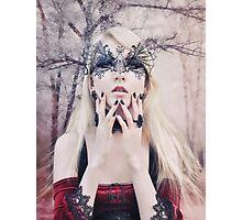 Maria Amanda - elven woman girl gothic Photographic Print