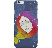 rainbow on my head iPhone Case/Skin