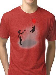 Little Black Rain Cloud Tri-blend T-Shirt