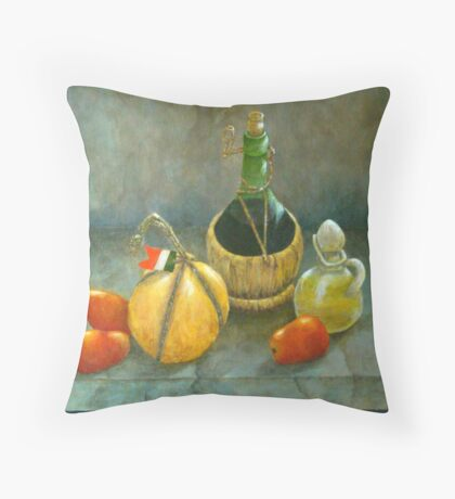 Sicilian Table Throw Pillow