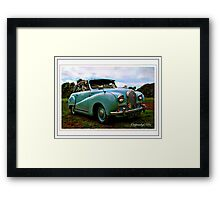 Hereford Coupe Framed Print