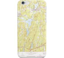 Massachusetts  USGS Historical Topo Map MA East Brookfield 350922 1969 25000 iPhone Case/Skin