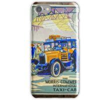 Vintage Taxi Sign iPhone Case/Skin