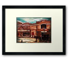 The Little Theatre by Regina Brandt Framed Print