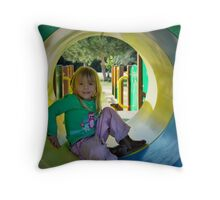Tunnels are great! Throw Pillow